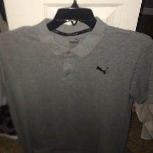 Gray Puma Shirt